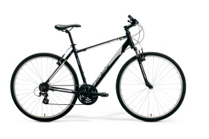 ROWER MERIDA M-BIKE CROSS 10-V 48cm BLACK-SILVER-GREY 2020