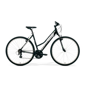 ROWER MERIDA M-BIKE CROSS 10-V LADY 46cm BLACK-SILVER-GREY 2020