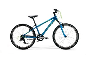 "ROWER MERIDA M-BIKE JUNIOR 24"" BOY 12"" BLUE-GREEN 2020"