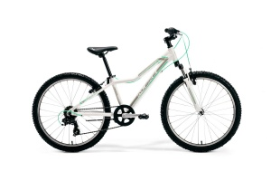 "ROWER MERIDA M-BIKE JUNIOR 24"" GIRL 12"" WHITE-GREY-MINT 2020"