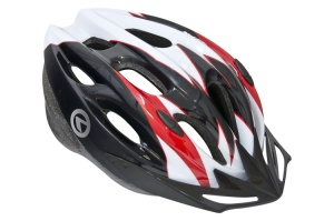 KASK NA ROWER KELLY'S BLAZE WHITE-RED M/L